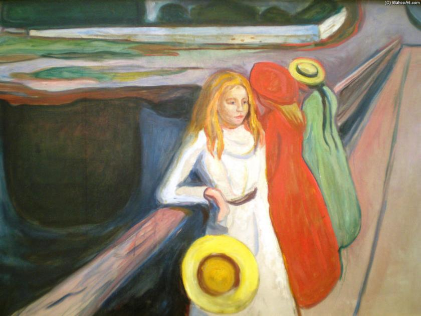 edvard-munch-girl-on-a-bridge