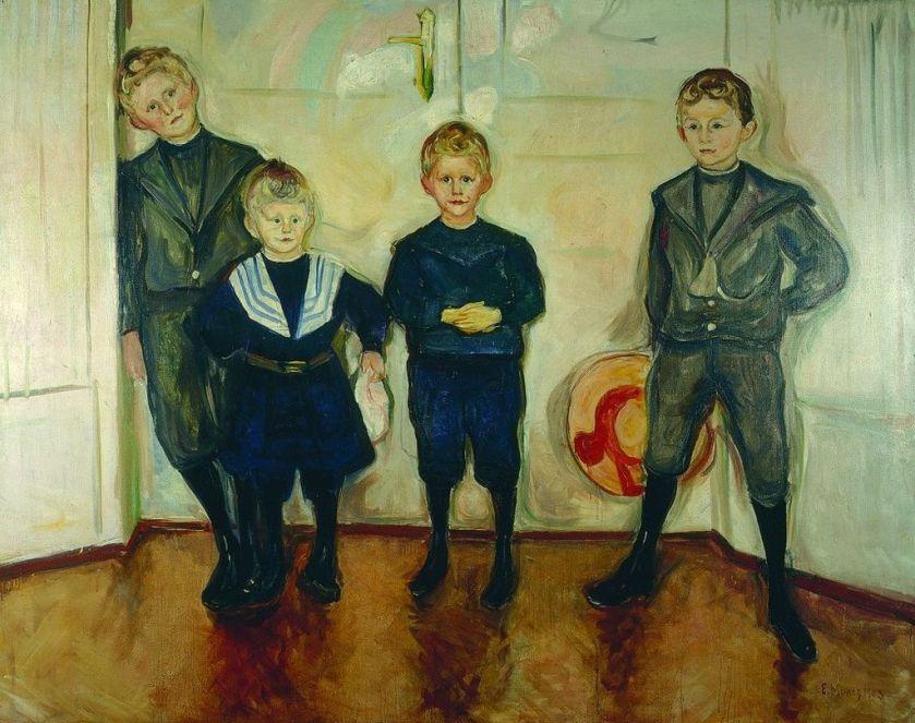 munch_soehne_des_dr_linde-jpg-munch-les-4-fils-du-docteur-max-linde-1904