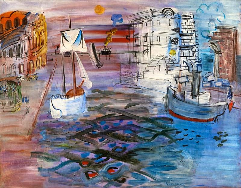 Thyssen (Madrid). Raoul Dufy