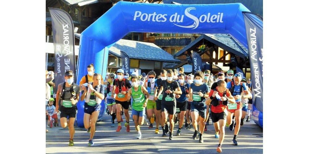 Morzine/ Avoriaz :Trail des Hauts Forts Haute Savoie 40 km Dénivelé + 9000 pieds.